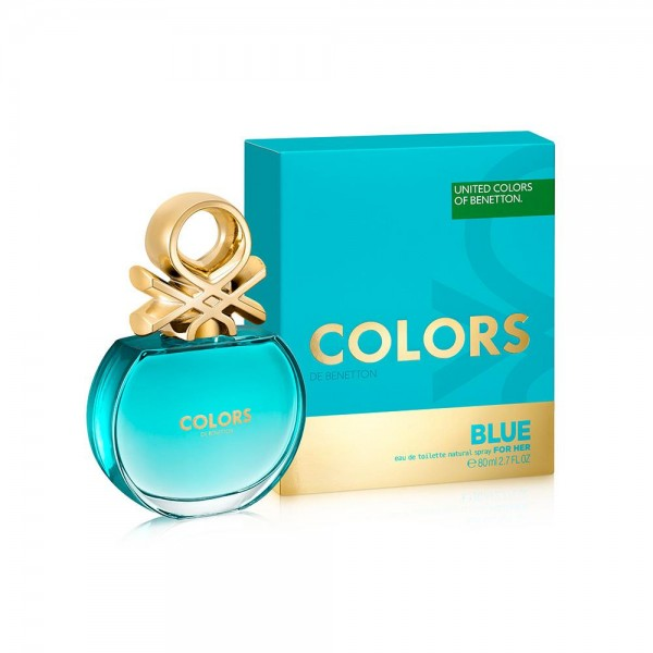 Benetton Colors Blue EDT 80 ML Kadın Parfümü